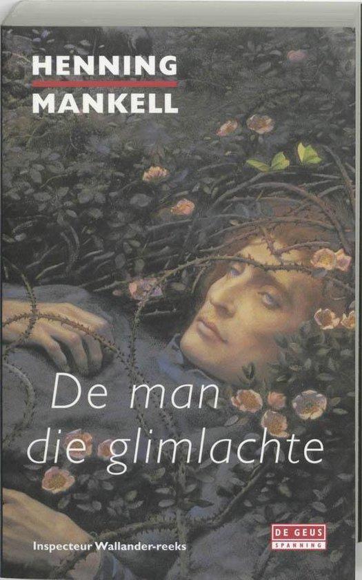 Cover van het boek 'De man die glimlachte' van Henning Mankell
