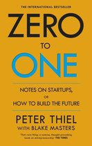 Boek cover Zero to One van Peter Thiel (Paperback)