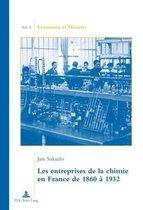Les Entreprises de la Chimie En France de 1860 A 1932