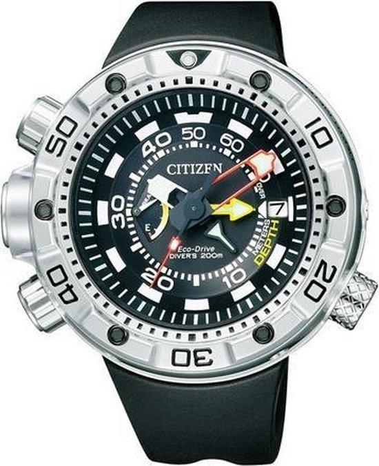 Citizen BN2021-03E ProMaster Aqualand Diver - Horloge - 49 mm - Zwart