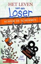 Boek cover Het leven van een Loser  -   Achter de schermen van Jeff Kinney (Hardcover)