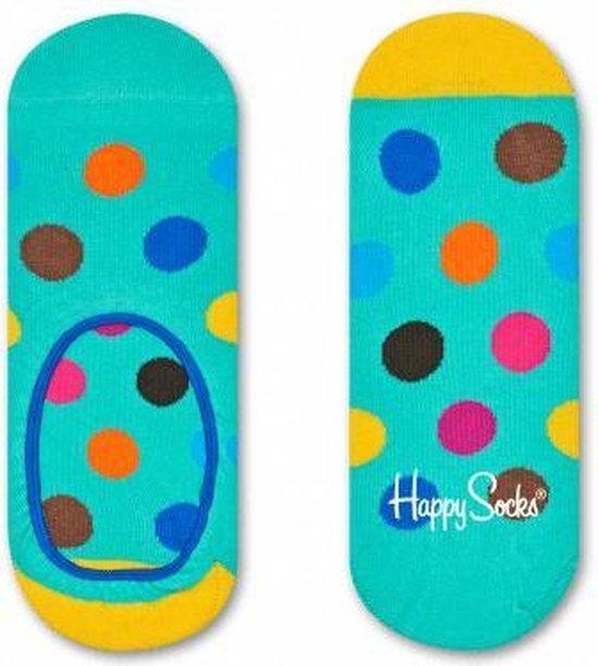 Happy Socks Liner Big Dot Groen, Maat 41/46
