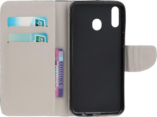 Samsung Galaxy A20e Hoesje - Book Case - Don't Touch