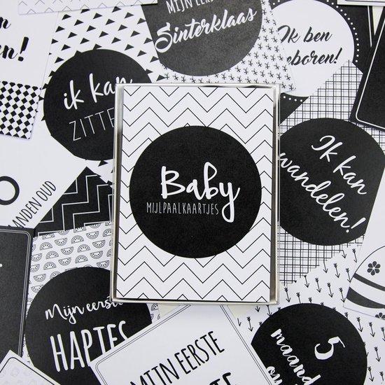Mijlpaalkaarten Baby - 56 kaarten - Elephant Memories