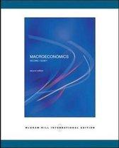 Boek cover Macroeconomics van Delong