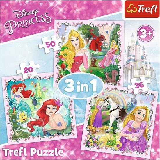 Puzzel 3 In 1 Princess