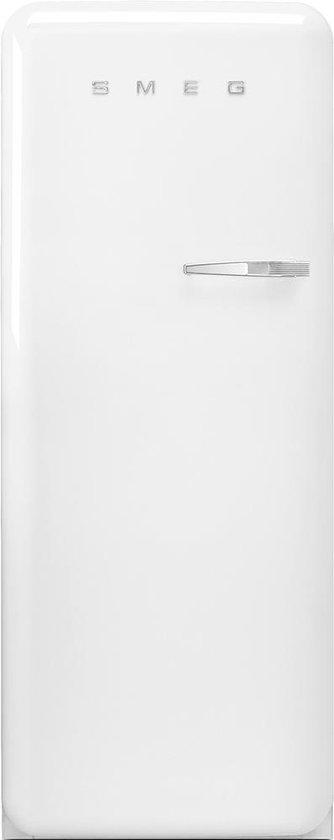 Koelkast: Smeg FAB28LWH3 combi-koelkast Vrijstaand 270 l G Wit, van het merk Smeg