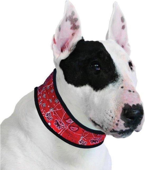 Aqua Coolkeeper Red Western koelhalsband hond - 14-16 cm