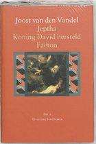 Jeptha, Koning David hersteld, Faëton