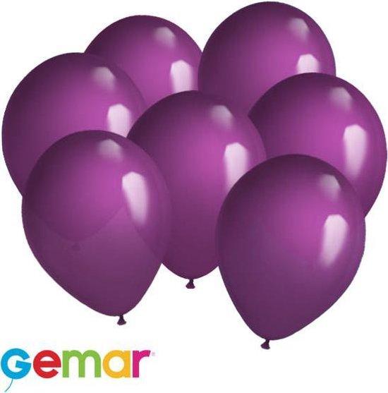 30 ballonnen Paars (Ook geschikt voor Helium)