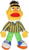 Pluche knuffel handpop Sesamstraat  Bert  33 cm