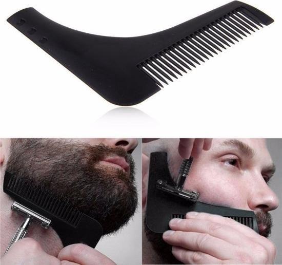 Baard schort - Baard accessoires - Baard scheren - Baard trimmen - Zuignappen - Lichtgewicht!