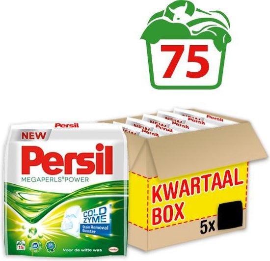 Persil Megaperls Power Waspoeder - Poeder Wasmiddel - Voordeelverpakking - 5 x 15 wasbeurten