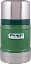Stanley Classic Food Jar Thermosfles - 502 ml - RVS - Hammertone Green