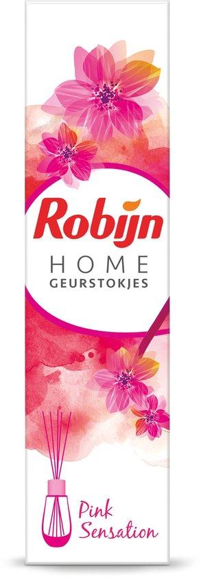 Robijn Geurstokje Pink - 6 x 45ml