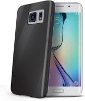 Celly - Gelskin Cover - Samsung Galaxy S6 Edge - grijs