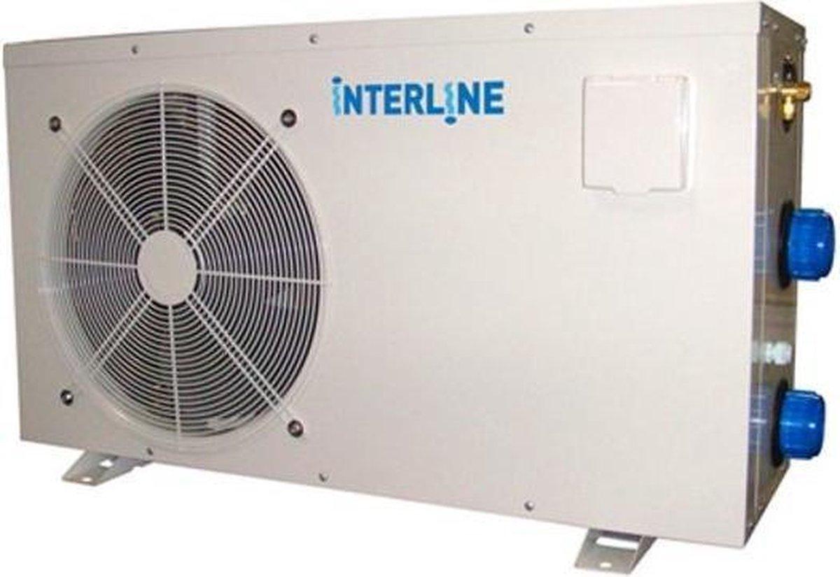 Interline Warmtepomp Pro 3,6 Kw 76 X 27 X 47 Cm Staal Grijs