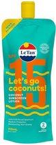 Le Tan Zonnebrand - Coconut Sunscreen Lotion - SPF 15 - 110 ml