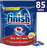 Finish All in 1 Max Lemon Vaatwastabletten - Kwartaalpak - 85 tabs