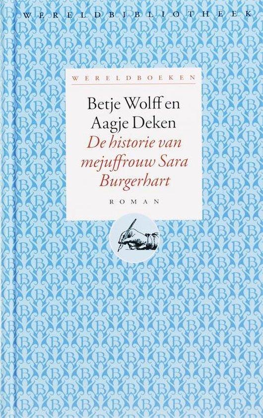 Wereldboeken 1 - De historie van mejuffrouw Sara Burgerhart - Betje Wolff |