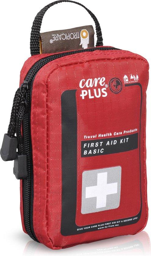 Care Plus Basic - EHBO-set / EHBO kit voor op reis