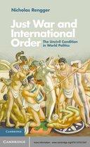 Omslag Just War and International Order