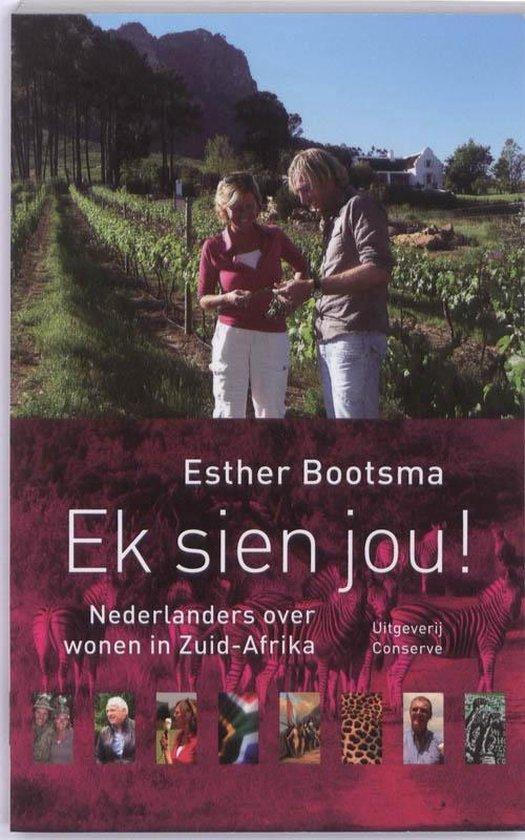Boek cover Ek sien jou! van Esther Bootsma
