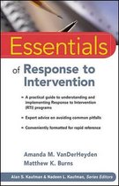 Omslag Essentials of Response to Intervention