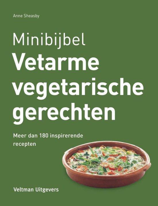 Minibijbel - Vetarme vegetarische recepten