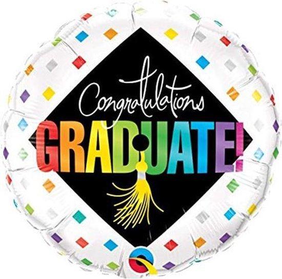 Folieballon Congratulations Graduate