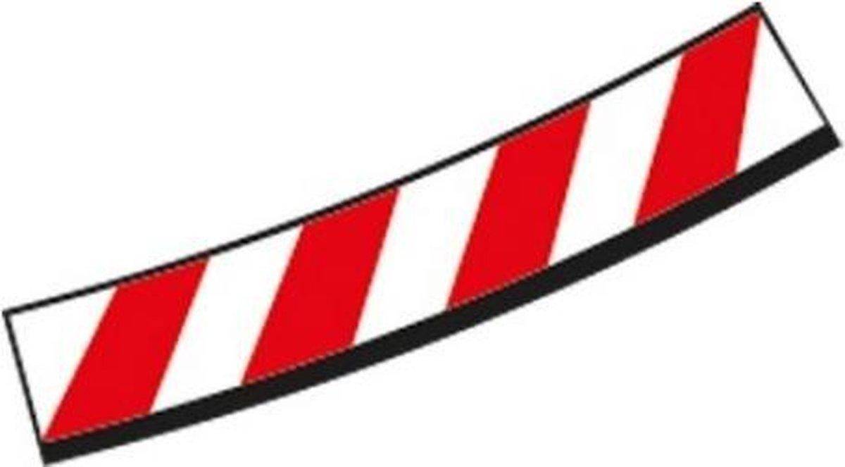 Carrera Binnenslipstroken kuipbocht 4/15° + eindstukken - racebanen - 1:32