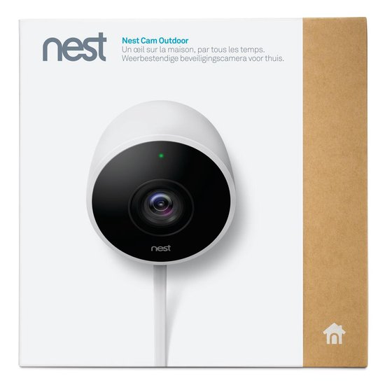 Google Nest Cam Outdoor Beveiligingscamera