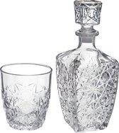 Bormioli Rocco Dedalo Whiskeyset - 7-delig - Glas