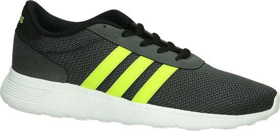 Adidas - Lite Racer - Sneaker runner - Heren - Maat 46 - Grijs - Core Black