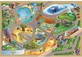 Groot speelkleed dierentuin 100x150