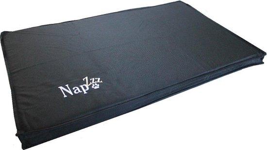 Napzzz Benchkussen - Waterproof - Zwart - 105x68x5cm
