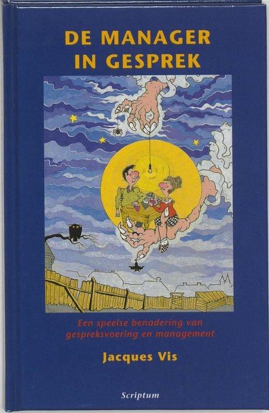 Cover van het boek 'De manager in gesprek' van J. Vis