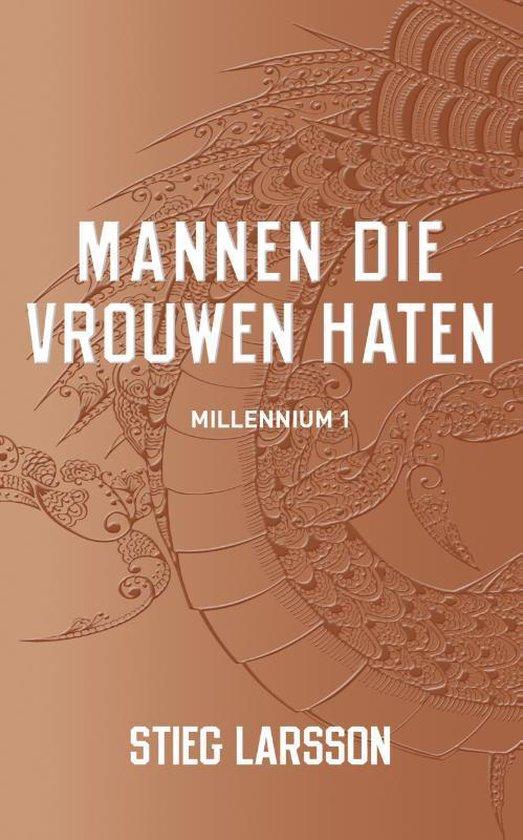 Omslag van Millenium 1 - Mannen die vrouwen haten