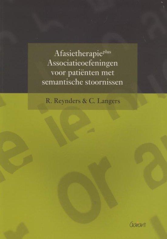 Afasietherapie plus - Renée Reynders   Fthsonline.com