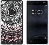 MP Case TPU case Mandala print voor Nokia 3 back cover