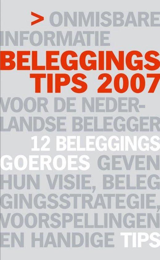 Beleggingstips 2007 - Peter Paul De Vries pdf epub