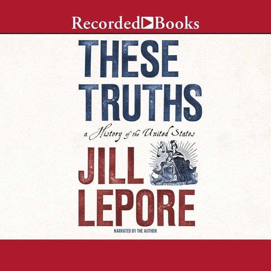 Boek cover These Truths van Jill Lepore