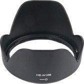 Zonnekap HB-N106 voor Nikon AF-P DX NIKKOR 18-55mm f/3.5-5.6G (VR) en 1 NIKKOR VR 10-100mm f/4.0-5.6 met 55mm filtermaat