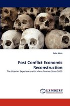 Post Conflict Economic Reconstruction