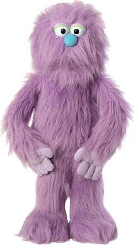 Handpop Paars Monster Sillypuppets