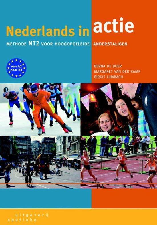 Boek cover Nederlands in actie van Berna de Boer (Paperback)