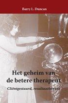 Het geheim van de betere therapeut
