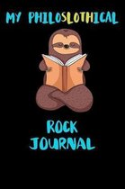My Philoslothical Rock Journal