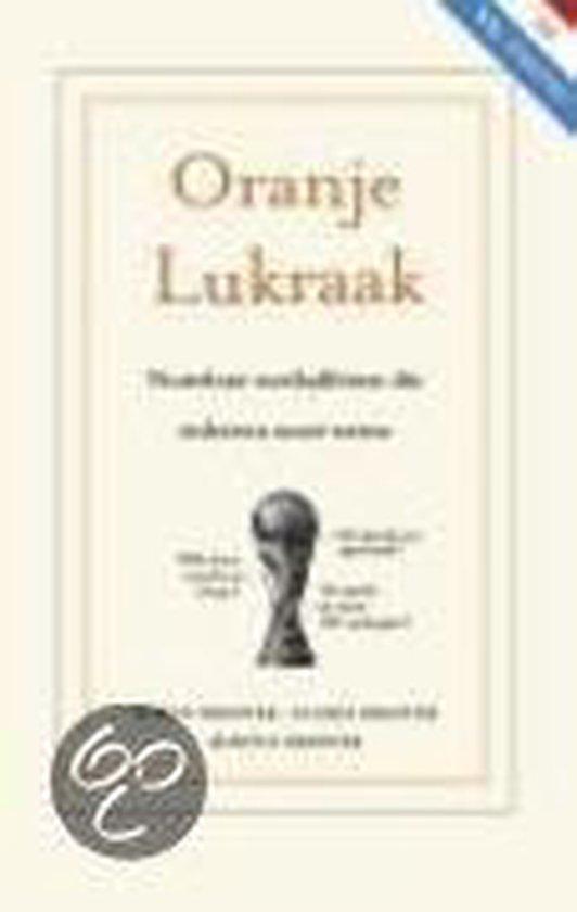 Boek cover Oranje Lukraak van S.F.M. Brester (Onbekend)