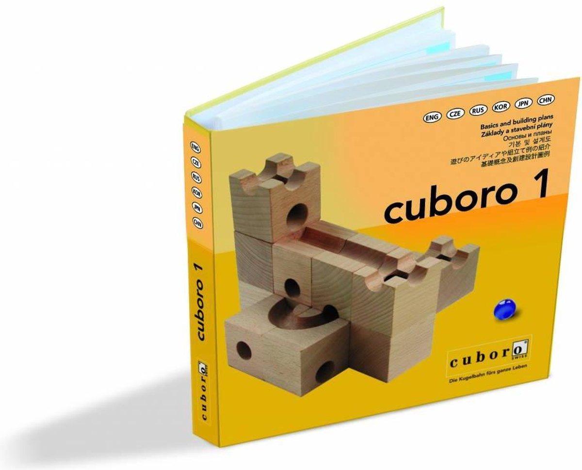 Cuboro Knikkerbaan boekje Instructies deel 1